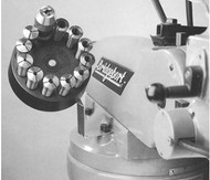 Precise R-8 Tooling Rotating Collet Caddy