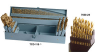 Precise Tin Coated Drill Sets