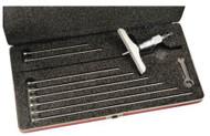 """Starrett 445BZ-9RL Depth Micrometer 0-9"""" with 4"""" Base - 445B-9RL"""