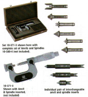 TESA Threadmaster, Interchangeable with Anvil and Spindle Sets