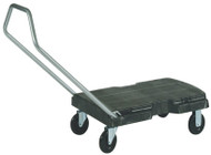 Rubbermaid Triple Trolley Cart - 90-083-7