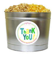 Thank You! 2 Gallon Popcorn Tin