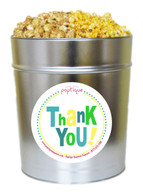 Thank You! 3.5 Gallon Popcorn Tin
