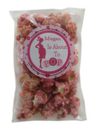 About to Pop! POPular Expressions party favors with Cotton Candy popcorn.