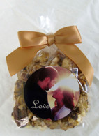 Bowtie Bag Wedding Personalized Popcorn Favors