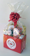 I Love You - Red Valentines Gift Basket