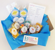Popcorn Bar Sampling & Planning Kit (Includes Shipping- US Only)