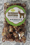 """Reindeer Droppings"" Cocoa Popcorn Stocking Stuffer"