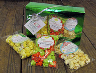 """Nice"" Gourmet Holiday Popcorn Gift Box"