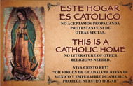 340.0030 CEDULA DE ESTE HOGAR ES CATOLICO/ THIS IS A CATHOLIC HOME