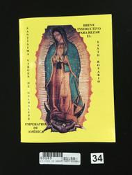 20.0022 Breve Instructivo Para Rezar El Santo Rosario
