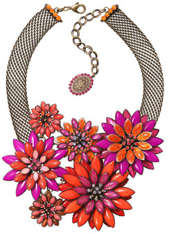 Psychodahlia Orange Necklace