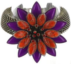 Psychodahlia Orange Bracelet