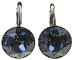 Casino Blue Denim Earrings