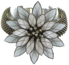 Psychodahlia White Bracelet
