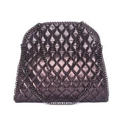 Quilted Shimmer Handbag