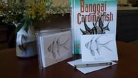 Banggai Cardinalfish (Pterapogon kauderni) Pen & Ink Notecards