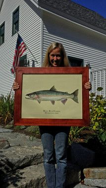 WYSIWYG Limited Edition (A/P) of Russian River Steelhead - The piece in the picture is the actual piece you are purchasing.