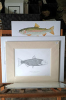 WYSIWYG Chinook Salmon Ltd. Edition Giclee Print