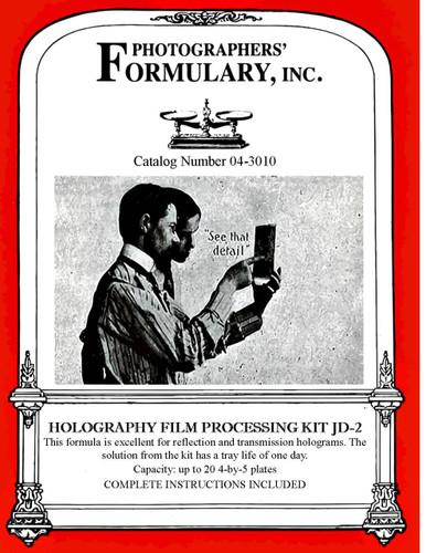 JD-2 Holography Developer Front Label