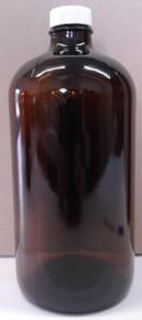 1 Liter Amber Glass Bottle