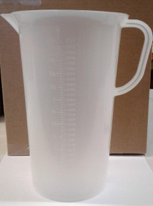 3000 ml Plastic Beaker