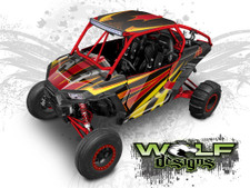 WD2A-008 - Polaris XP1K UTV Wrap Kit (EXTREME PLUS KIT SHOWN)