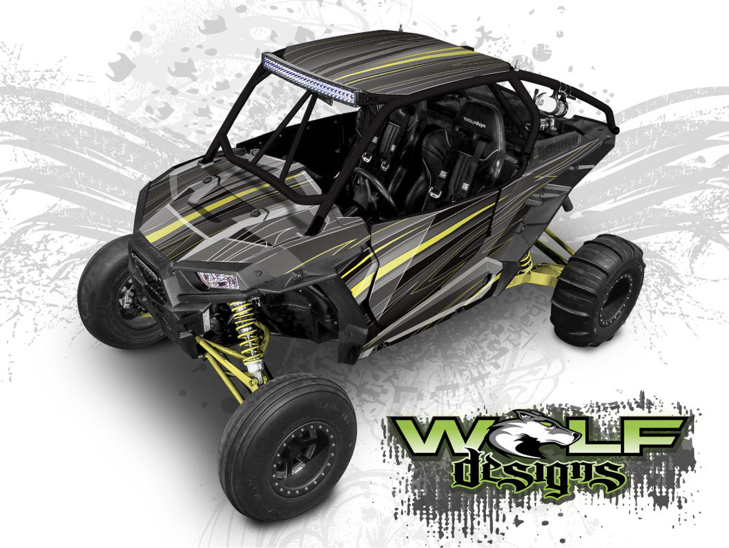 Polaris RZR XP1K UTV Wrap Kit