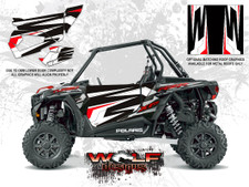 Polaris RZR XP Turbo - Graphite Crystal Door Kit