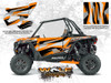 Polaris RZR XP Turbo - Spectra Orange Door Kit