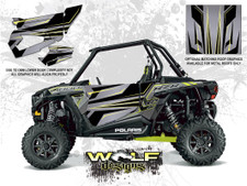 Polaris RZR XP 1000 - Titanium Door Kit