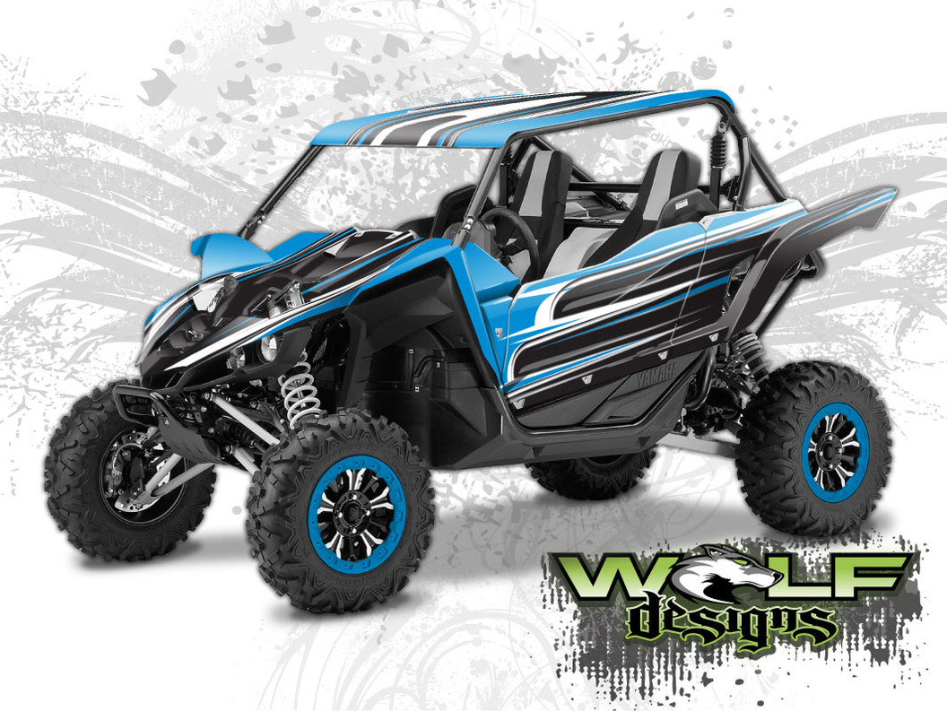The best Yamaha YXZ wrap kit - UTV Wrap Kit