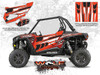 Polaris RZR XP 1000 - Havasu Red Pearl Door Kit