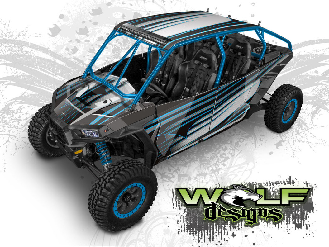 Polaris RZR XP4 1000 UTV Graphics Wrap Kit
