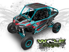 Polaris RZR UTV graphics wrap kit
