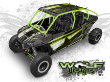Polaris RZR XP4 1000, XP4 Turbo UTV Graphics Wrap Kit