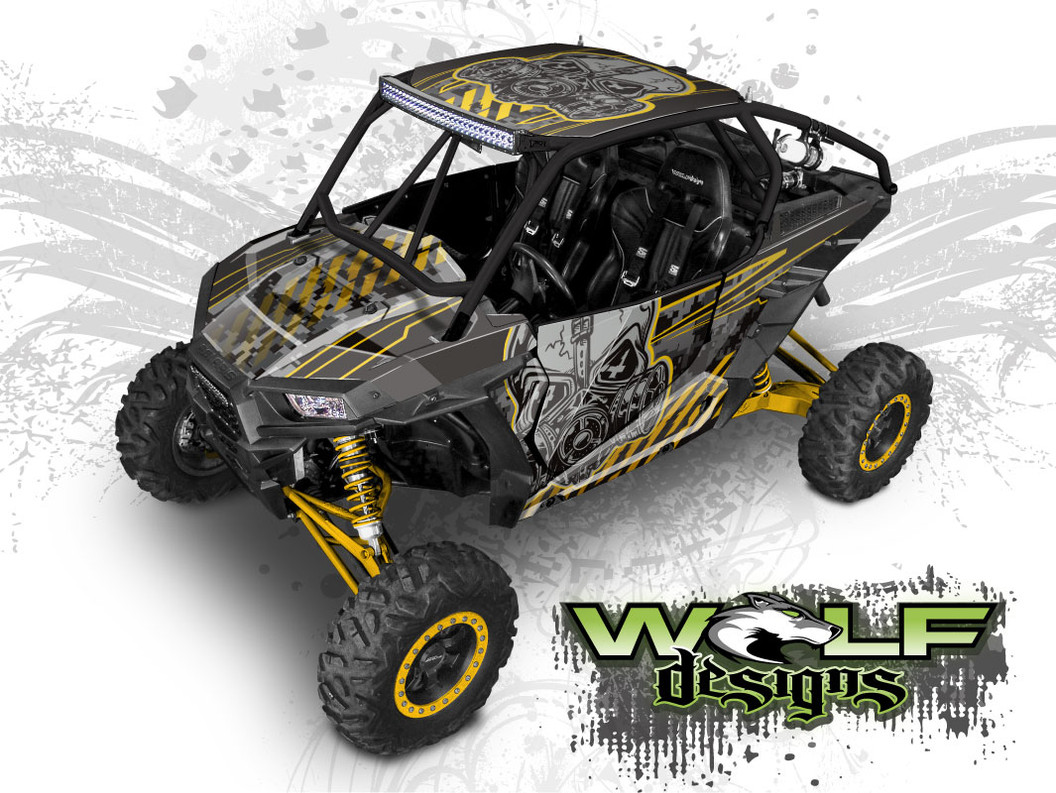 Polaris RZR XP-1000, XP-1000 Turbo Graphics Wrap Kit