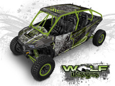 Polaris RZR XP4 1000 and Turbo Graphics Wrap Kit