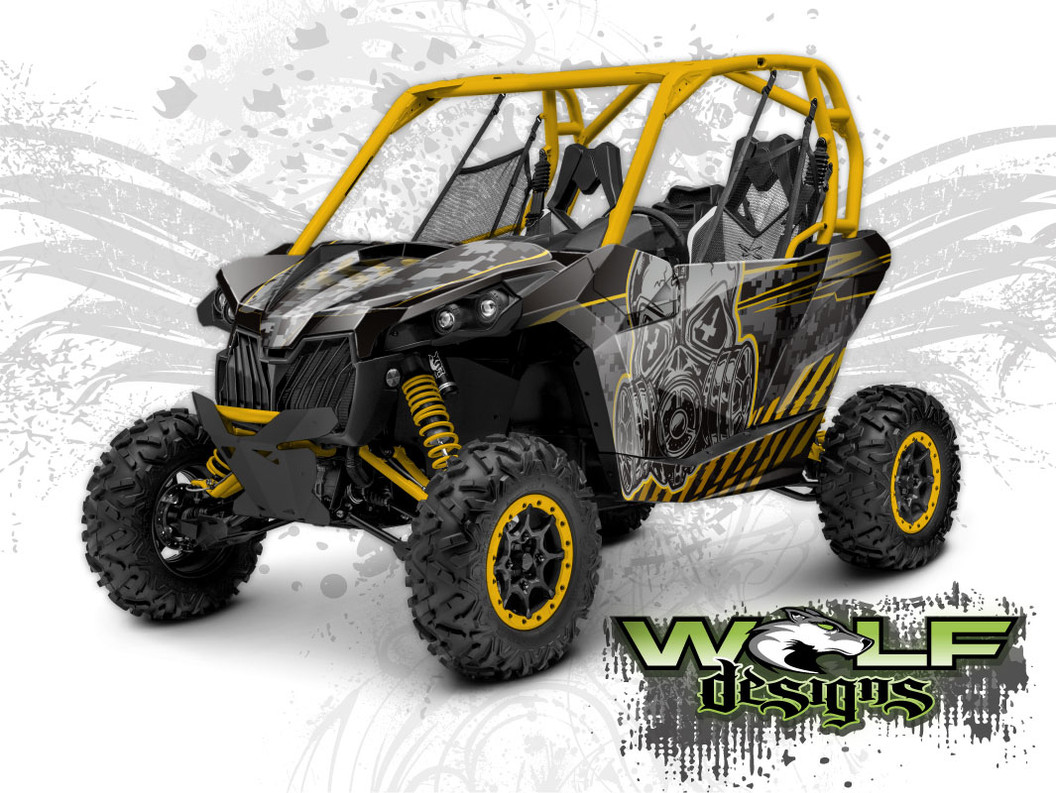 Can-am Maverick - Graphics Wrap Kit
