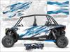 POLARIS RZR XP4 TURBO - Matte White Lightning