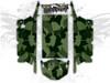 Green Urban Jagged Camo - Polaris RZR XP4 1000 and Turbo Graphics Wrap Kit