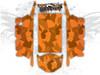 Orange Urban Jagged Camo - Polaris RZR XP4 1000 and Turbo Graphics Wrap Kit