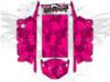 Pink Urban Jagged Camo - Polaris RZR XP4 1000 and Turbo Graphics Wrap Kit