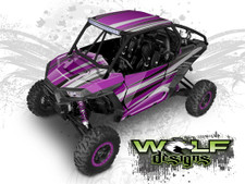 WD2B-003 - Polaris RZR XP1K UTV Wrap Kit (EXTREME PLUS KIT SHOWN)
