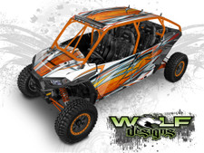 Polaris RZR XP4 1000, - XP4 Turbo UTV Graphics Wrap Kit