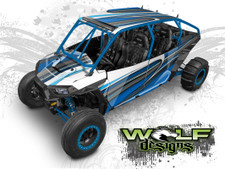 Polaris XP4 1000, XP4 Turbo UTV wrap kit by Wolf Designs