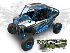 The best UTV wrap kit graphics for the Polaris RZR XP 1000, XP Turbo