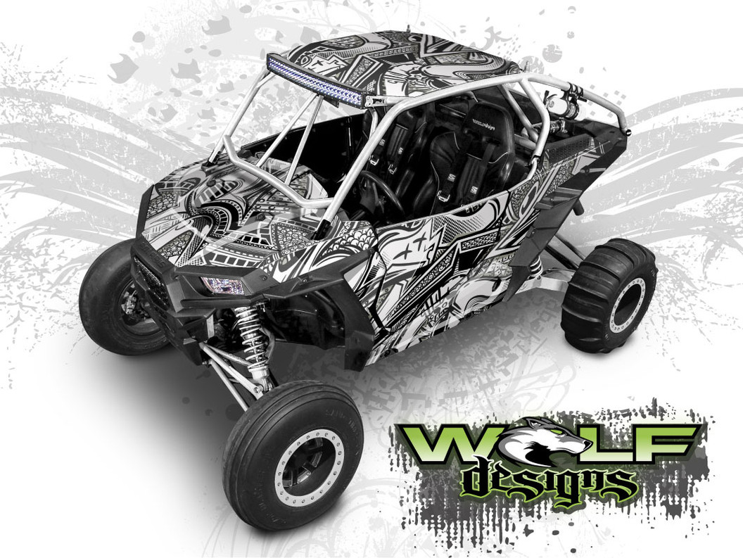 The best UTV graphics for Polaris RZR XP Turbo and XP 1000