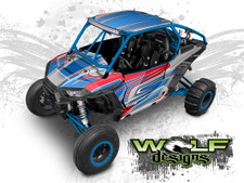 Polaris RZR Wrap Kit for XP Turbo and XP 1000