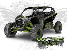 The best Can-am Maverick X3 side by side wrap kit